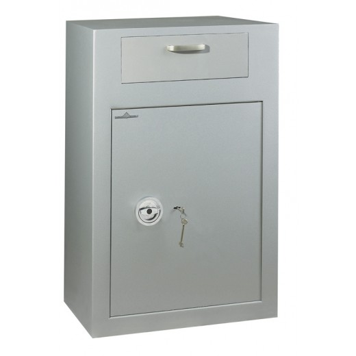 Vulcain dépôt est disponible en option avec serrure à clé A2P pour le tiroir