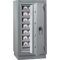 Armario ignífugo protección soportes magnéticos 2 Horas Média Duo 1280-Cerradura de Llave